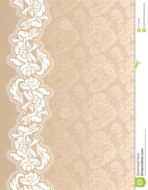 greeting card background templates floral background with lace for greeting card stock vector