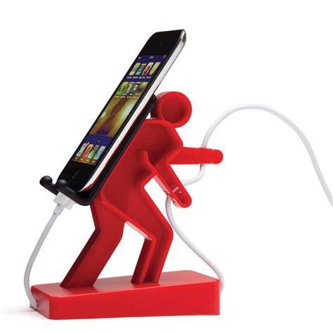 Nightstand Phone Charger boris walking man plastic phone holder project