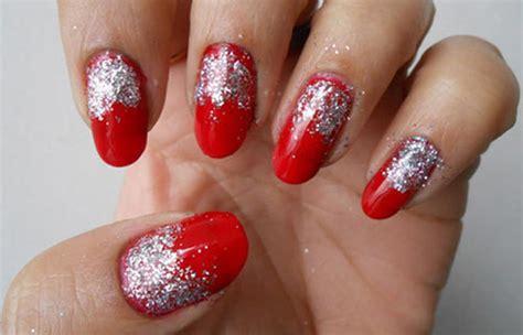 tutorial nail art polveri glitter diy easy glitter nail arts