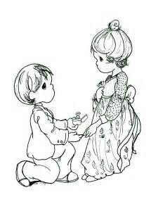 precious moments spring free wedding coloring pages print gianfreda net