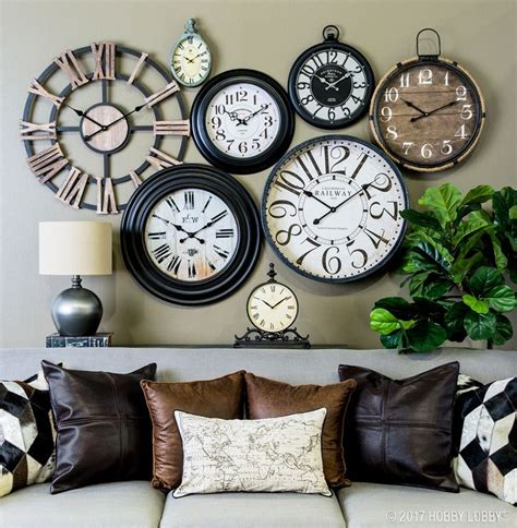 wall clock ideas 25 great ideas about wall of clocks on