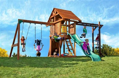 wooden backyard playsets wood backyard playsets backyard playsets plans walsall