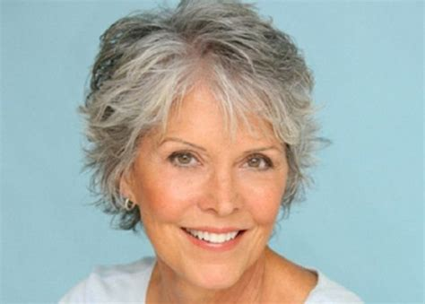 hairstyle for gray thin wavy hair short haircuts for women with gray hair like thin sleek