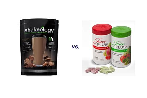 Juice Plus Detox Reviews by Juice Plus Vs Shakeology An Unbiased Comparative Review