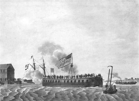 quien invento el barco a vapor el primer submarino de guerra historias de la historia