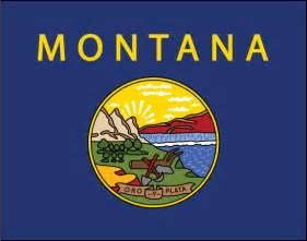 montana state colors how to draw montanas flag