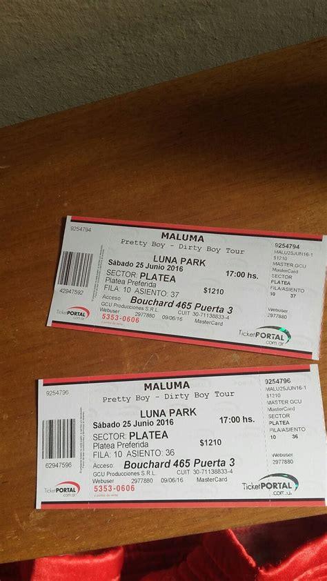 entradas para maluma luna parck junio 2016 17 migliori idee su concierto de maluma su pinterest