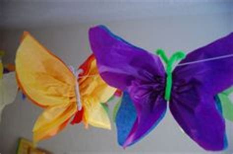 How To Make A Butterfly With Tissue Paper - 1000 images about tissue paper potential on