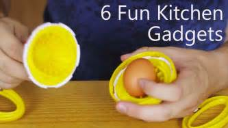 Funny Kitchen Gadgets by 6 Fun Kitchen Gadgets Youtube