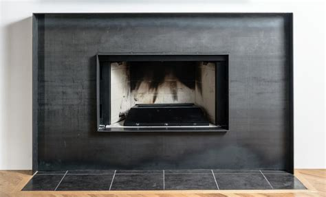 sheet metal fireplace surround fireplace designs