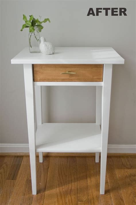 Hemnes Nightstand Hack Best 25 Ikea Hack Nightstand Ideas On Pinterest Ikea