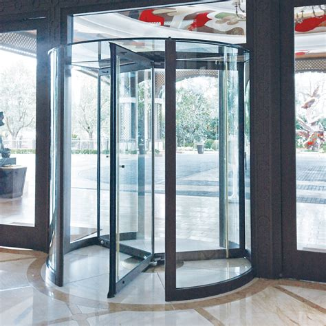 Revolving Glass Door Crane 4000 Series The All Glass Door