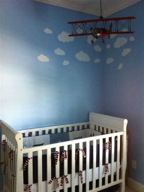 andy s airplane themed nursery project nursery