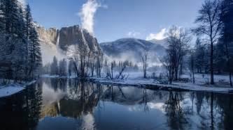 Free Desk Top Wallpaper Yosemite Natural Most Beautiful Park River Hd Free