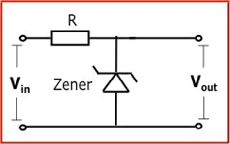 zener diode series resistor calculation zener diode calculator