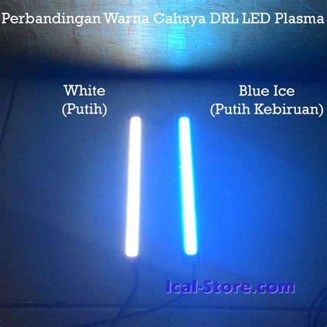 Led Plasma 17cm Warna Putih Putih lu daytime running light drl led plasma ical store ical store
