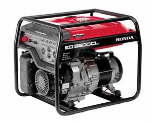 Honda Powered Generator Honda Eg6500 Portable Generator 6500 Watt Economy