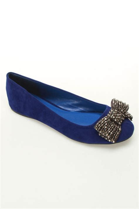 royal blue flat shoes serina 715 ballet flats in royal blue oh shoes