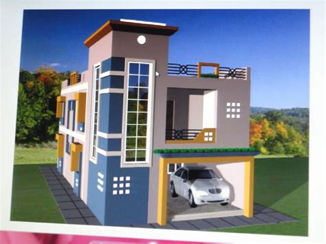 House Design Indian Style Plan And Elevation Lovely Home Design Duplex House Designs