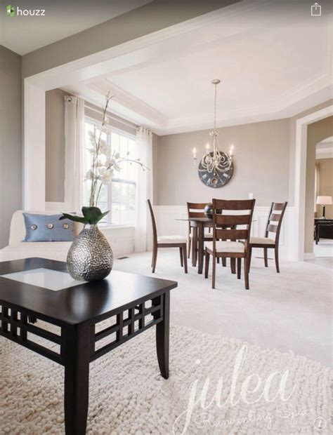 Sherwin Williams   Agreeable Gray w Alabaster trim   Paint