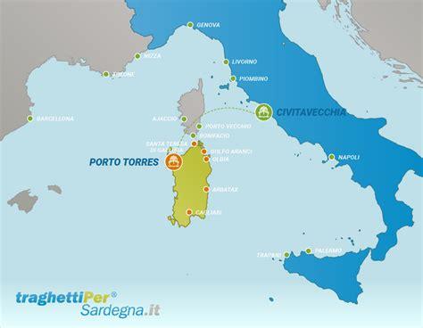 traghetti per porto torres da civitavecchia tratta traghetti veloci per porto torres da civitavecchia