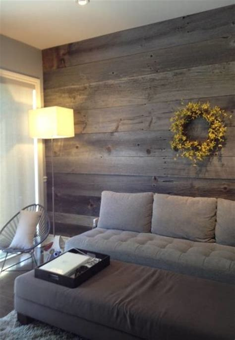 feature wallpaper for grey walls barn board feature walls farmhouse living room