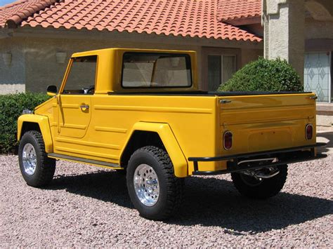 volkswagen type 181 thing 1973 volkswagen thing pickup 43364