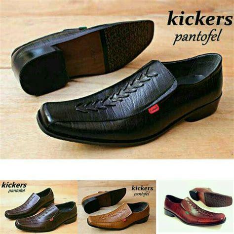 Sepatu Kickers Pantofel Kerja Pria 5 terlaris sepatu pantofel murah kulit asli pria kerja kickers formal leather premium motif