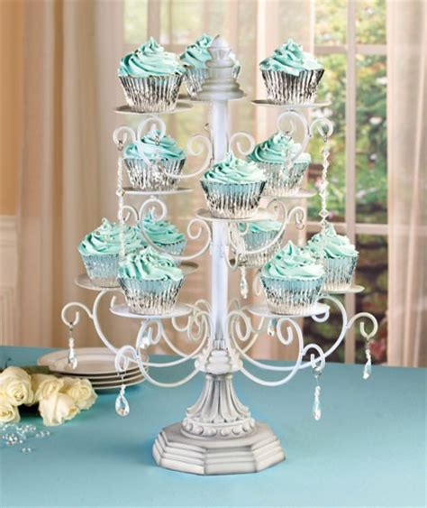 Cupcake Chandelier Stand Scrolled Chandelier Cupcake Pedestal Display Stand Accents New Ebay