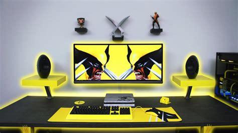 ultimate desk setup 7500 ultimate wolverine desk setup time lapse