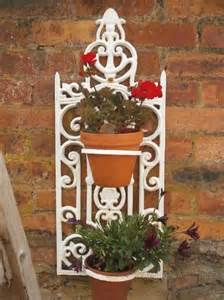 Vintage Wall Planters by Antiques Atlas Vintage Wrought Iron Wall Hanging