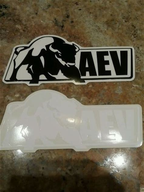 American Expedition Vehicles Stickers