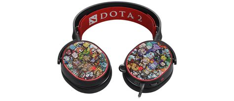 Steelseries Arctis 5 Dota 2 Limited Edition 7 1 Gaming Headset 61445 pocketfullofapps iphone ipod touch and news reviews and giveaways in your pocket