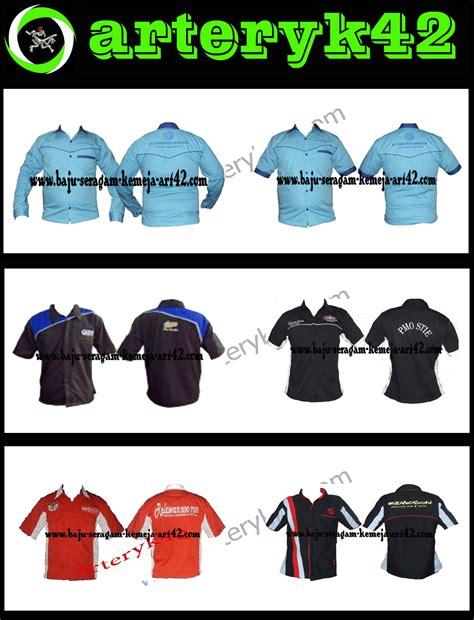 design baju club motor buat kemeja seragam contoh baju seragam kerja