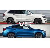 2016 Jeep Grand Cherokee SRT Vs BMW X6 M  YouTube