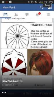 hair color and foil placement techniques pinterest the world s catalog of ideas