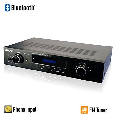 av receiver mit phono eingang bluetooth stereo receiver w phono input subwoofer output