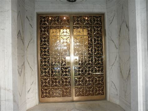 Bronze Door by Fabrication And Restoration Of Historic Iron And Bronze