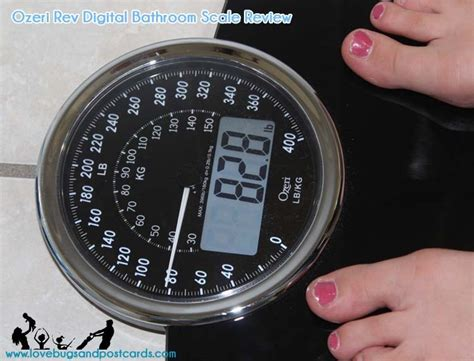ozeri rev digital bathroom scale review lovebugs and