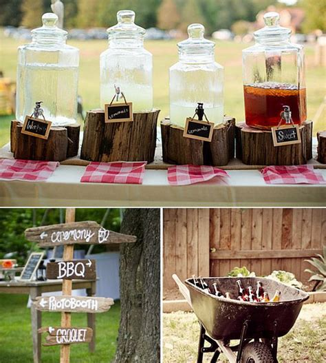 western wedding ideas drink ideas for western or country weddings