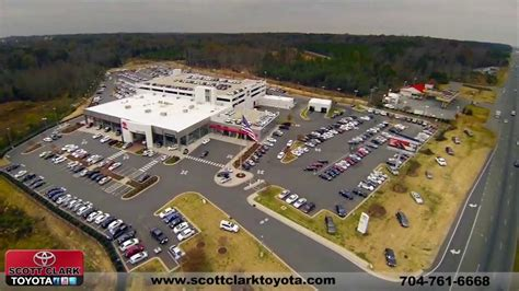 Clark Toyota Aerial Footage Of Clark Toyota