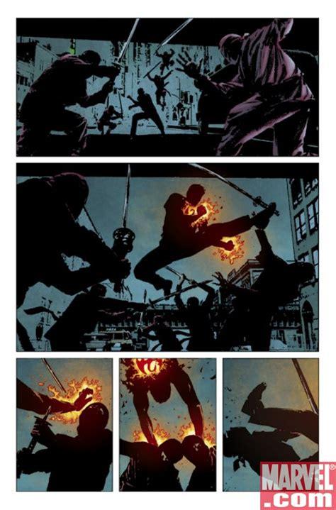 daredevil by ed brubaker saga sler 2008 comic books daredevil 112 preview