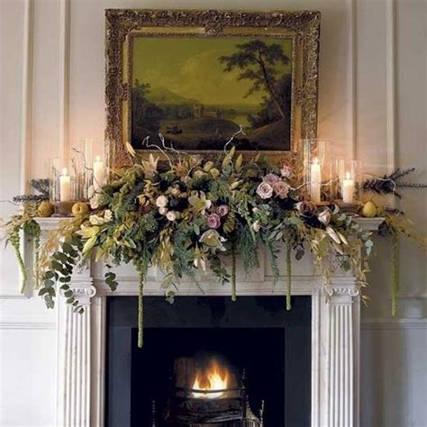 elegant mantel decorating ideas beautiful flower mantel once wed