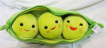 3 peas in a pod new large disney story 3 peas in a pod plush 19 quot ebay