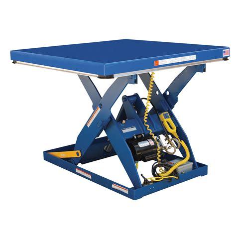 vestil ehlt 4848 2 43 electric hydraulic scissor lift