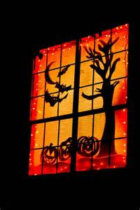halloween window decorations 25 ideas to decorate windows with silhouettes on halloween