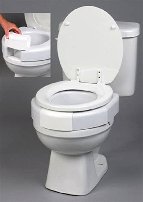 secure toilet seat secure bolt elevated toilet seat