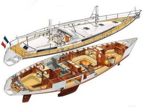 cutaway boats and the boat on pinterest - Boat Cutaway