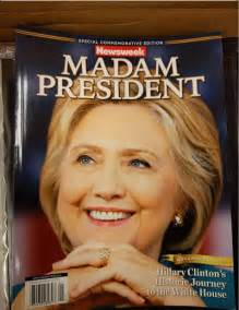 Busted newsweek already has the clinton victory special edition in