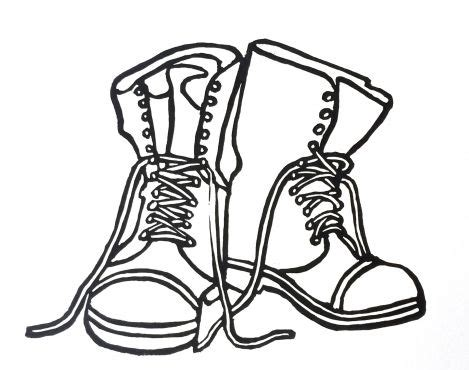 how to draw a military boat drawn soldier boot 3444537